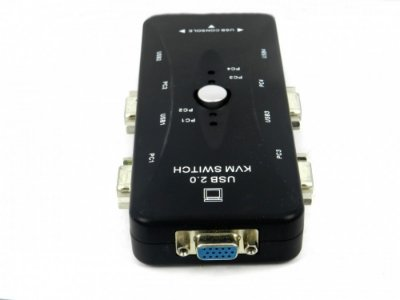 Switch KVM 4 Portas + USB Manual