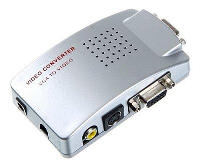 Conversor PC TV VGA para RCA
