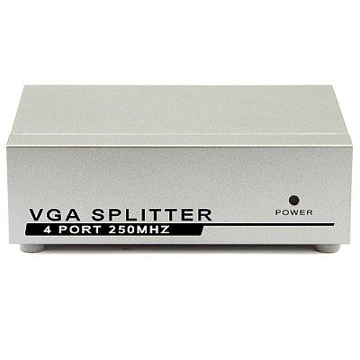 Divisor Splitter VGA 1 Entrada e 4 Saídas