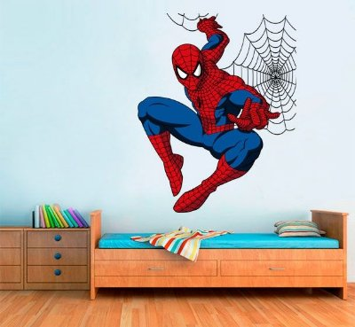 Adesivo de Parede - Homem Aranha 90x110cm