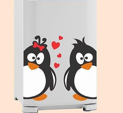 Adesivo de Cozinha - Pinguim Love 24x40cm