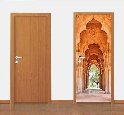 Adesivo para porta - Palácio Da Índia 90X210cm
