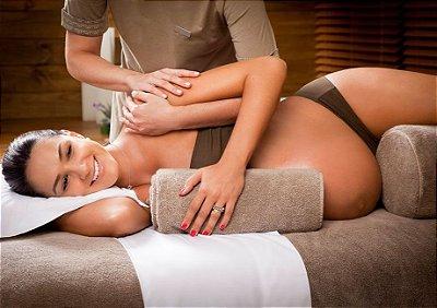 Massagem Gestante Relaxante - Vivência Concepção