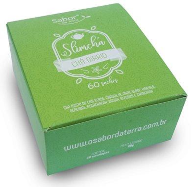 Kit SlimChá Desincha - Chá Diário - Caixa com 60 Sachês