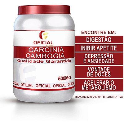 Garcinia Cambogia 500Mg 60 Cápsulas - OficialFarma
