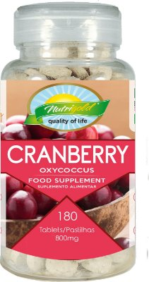 CranBerry PRO - 180 Unid. Nutrigold (800mg)