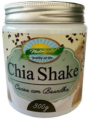 Chia Shake Slim sabor Cacau com Baunilha 300g