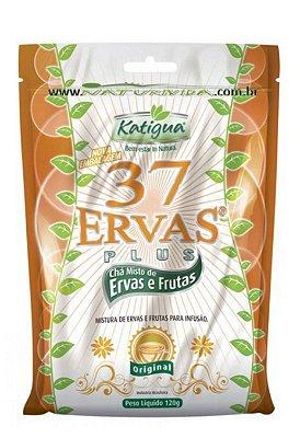 Chá Misto 37 Ervas Sabor de Ervas e Frutas 120g Katigua