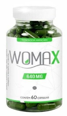 Womax 640mg - 60 Cápsulas