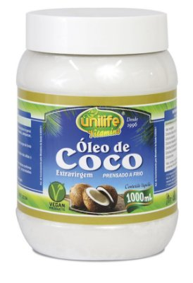 Oleo de Coco Extra Virgem 1 Litro Unilife
