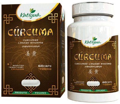 Curcuma 400mg Medicina Chinesa Katigua - 60caps