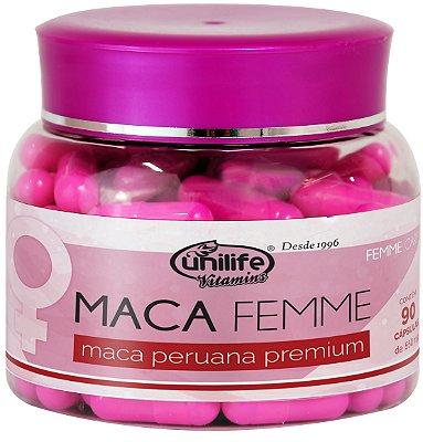 Maca Peruana Premium Femme 90 caps Unilife