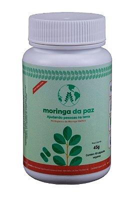 Moringa Oleífera Organica 90 Cápsulas 45g - Moringa Da Paz