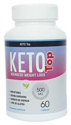 Emagrecedor Keto - Linha TOP - 500mg - 60 Caps