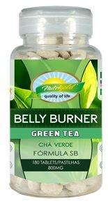 Formula (Belly Burner) Seca Barriga Chá Verde 180 Cápsulas