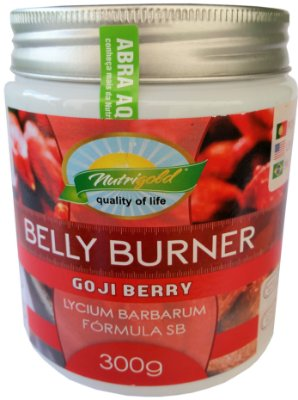 Farinha Seca Barriga Belly Burner Gojiberry - Nutrigold (300g)
