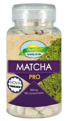 Matcha Pro 180 Comprimidos Green Tea Nutrigold