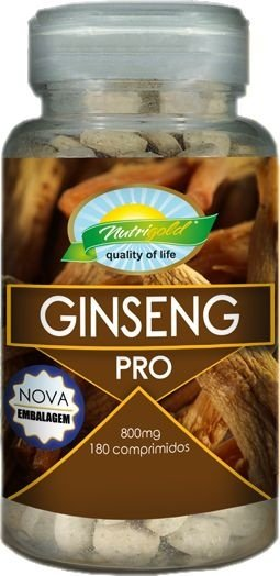 Ginseng Coreano Nutrigold 180 Capsulas