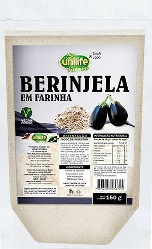Berinjela em Farinha (150g)- Unilife