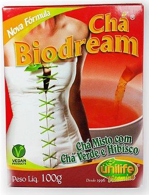 Chá Misto (100g) Biodream com Chá Verde e Hibisco - Unilife