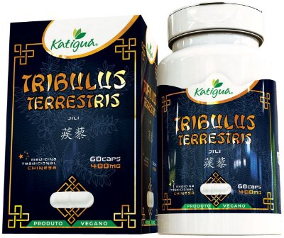 Tribulus Terrestris - Medicina Chinesa - Katigua 400mg 60 Cápsulas