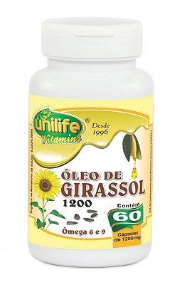 Óleo de Girassol (750mg) 60 Cápsulas - Unilife