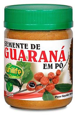 Semente de Guaraná em pó (150g) Unilife