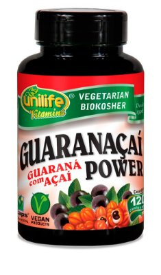 Guaranaçaí Power 120 Cápsulas (500mg) - Unilife