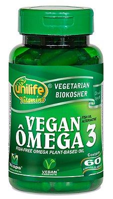 Omega 3 Vegan 60 cápsulas Unilife