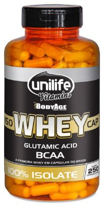Iso Whey CAP Unilife 250 cápsulas (550mg) - Unilife