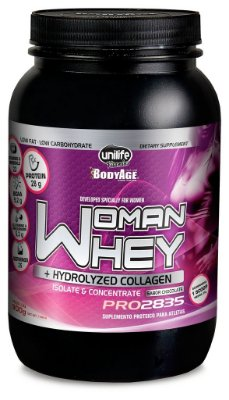 Woman Whey Isolado e Concentrado Chocolate - Unilife