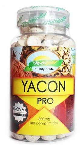 Batata Yacon Pro Nutrigold com 180 caps