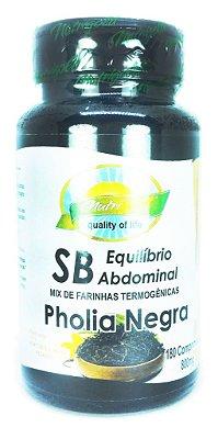SB Equilibrío Abdominal Pholia Negra - Nutrigold