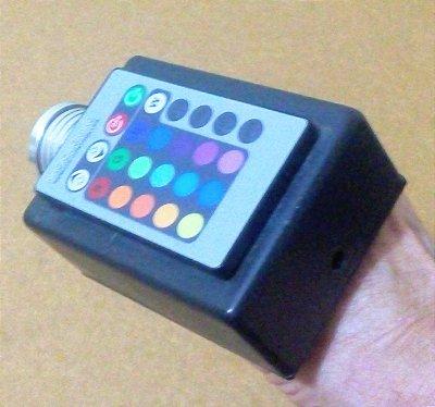Lanterna de cromoterapia com 16 cores lente colimada
