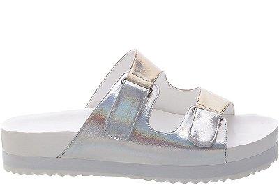 Slider Velcro Holográfica Bicolor
