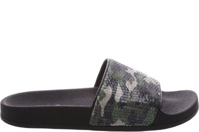 Slider Paetê Camuflado Olive Army