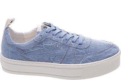 Tênis Newport Jeans Crimp Sola Alta