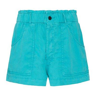 Shorts Veleiro Turquesa