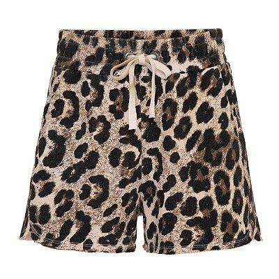 Shorts Moletom Onça