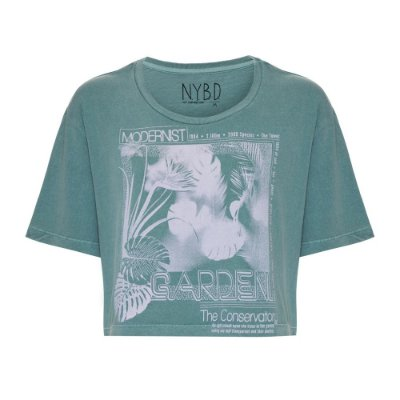 Camiseta Cropped Garden