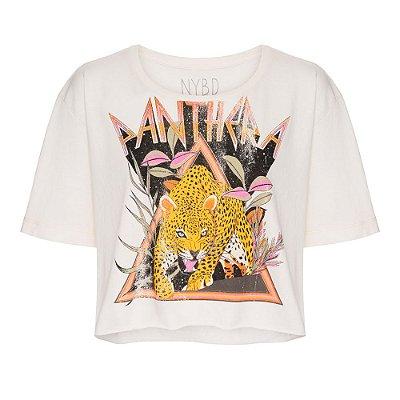 Camiseta Cropped Panther