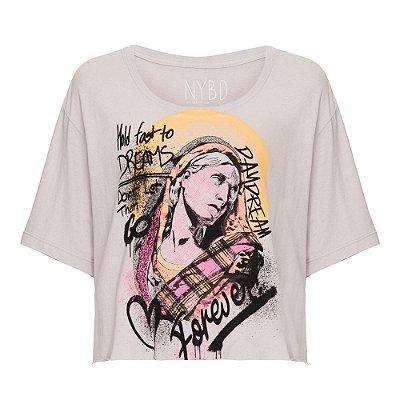 Camiseta Cropped Forever GELO