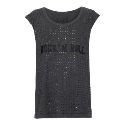 Camiseta Rock'n Roll Preta