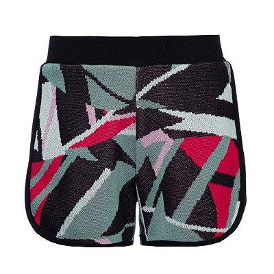 Shorts Tricot Surf Rosa