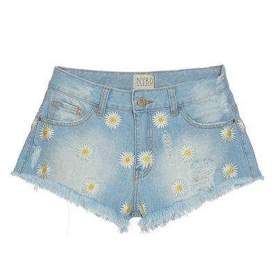 Shorts Margaridas