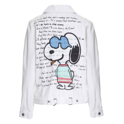 Jaqueta Branca Snoopy Letra de Música