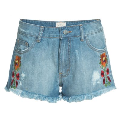 Shorts Floral Lateral