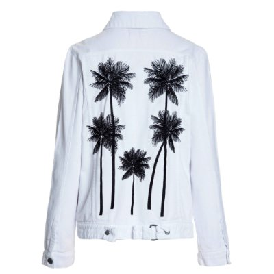 Jaqueta Branca Coqueiros