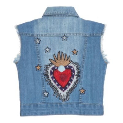 Colete Novo Coração Sagrado Bambini