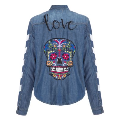 Camisa Jacket Caveira Love